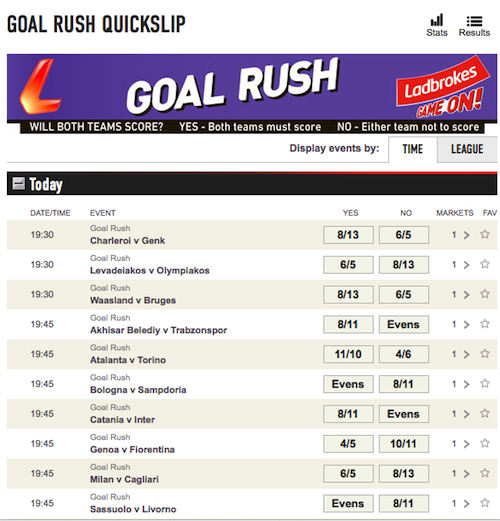 goal rush coupon